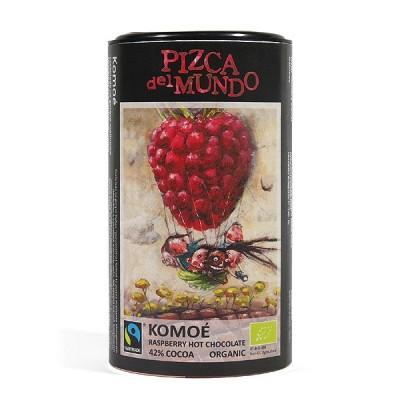 Komoe, czekolada na gorąco - malinowa 250g