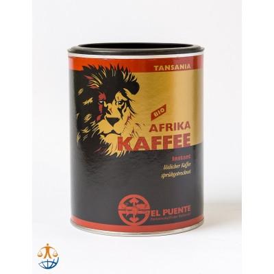 Kawa rozpuszczalna Tansania Afrika Kaffee, puszka
