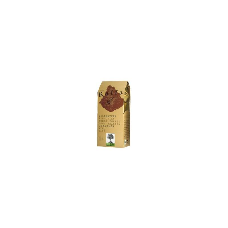 Kawa ziarnista, dziko rosnąca arabika z Etiopii, Kaffa mild (250g)