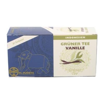 Herbata zielona z wanilią z Indonezji, 20 saszetek