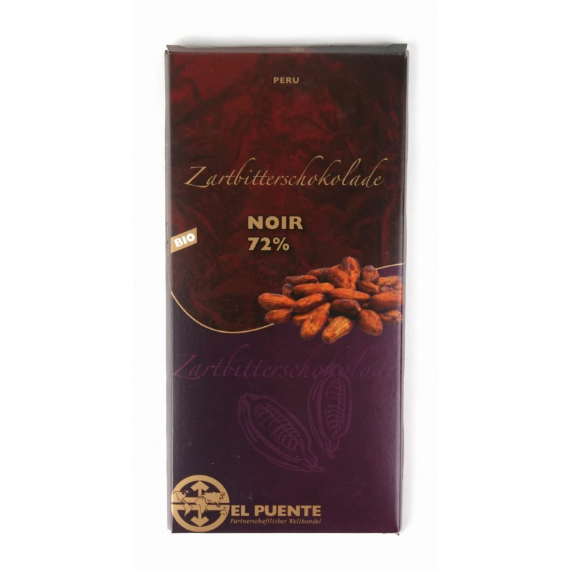 "Ekologiczna czekolada gorzka ""Noir"""