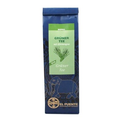 Herbata zielona z Nepalu z trawą cytrynową