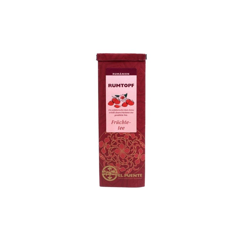 Herbata owocowo-rumowa