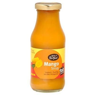 Syrop owocowy z mango, 250 ml
