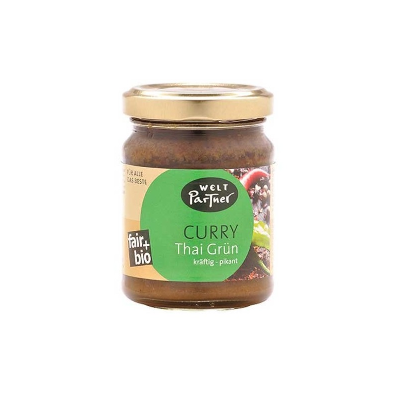 """Pasta przyprawowa """"Curry Thai Zielona"""" BIO"""