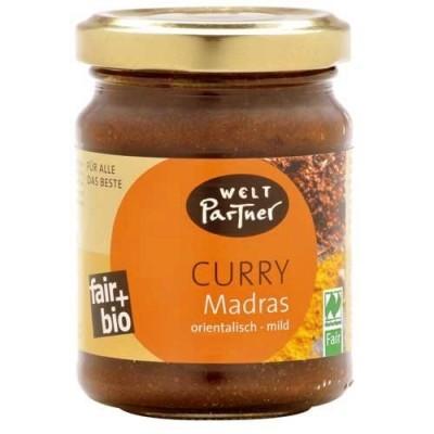 """Pasta przyprawowa """"Curry Madras"""" BIO"""