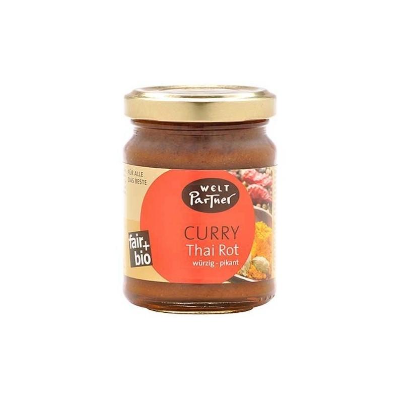 """Pasta przyprawowa """"Curry Thai Czerwona"""" BIO"""