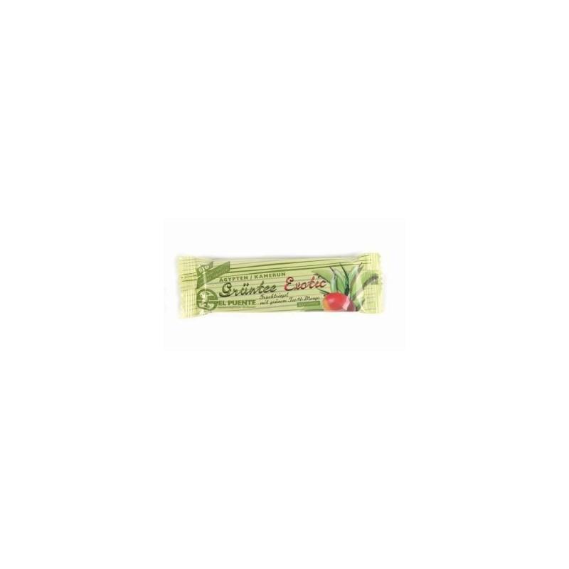 Baton owocowy z zielona herbatą i mango