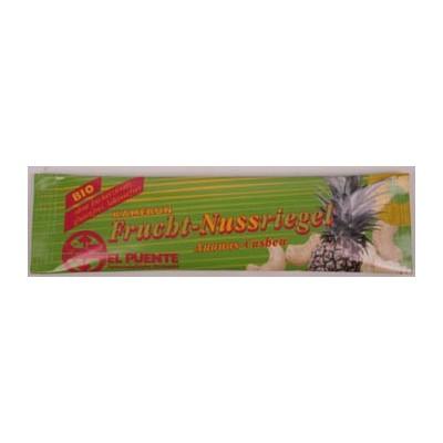 Baton owocowy z ananasem i orzechami nerkowca