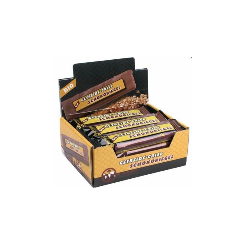 Baton czekoladowy z chrupkami kakaowymi
