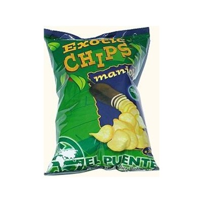 Exotic Chips Maniok naturalne