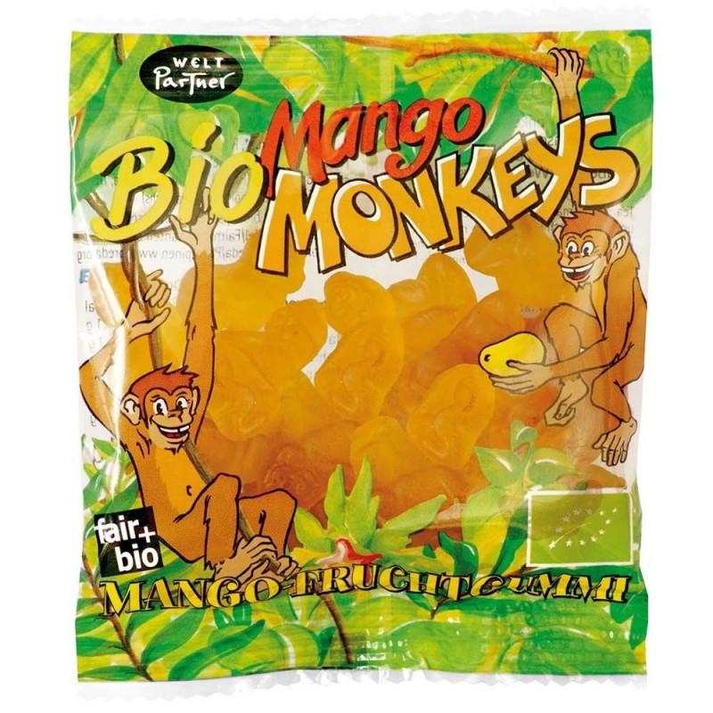 """Cukierki żelowe MANGO """"Bio Mango Monkeys"""""""