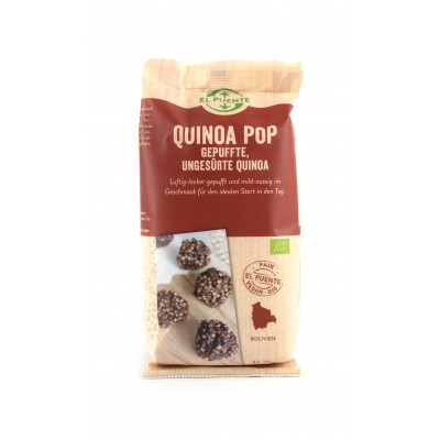 Quinoa (komosa ryżowa) pop, dmuchana