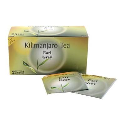 Herbata z Tanzanii Kilimanjaro Tea Earl Grey, 25 saszetek