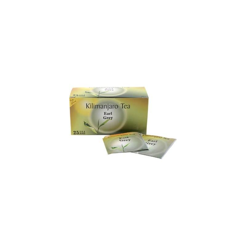Herbata Earl Grey z Tanzanii, Kilimanjaro Tea (25 saszetek)