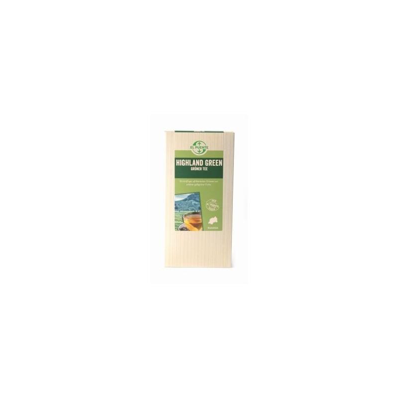 Herbata zielona liściasta z Rwandy (135g)
