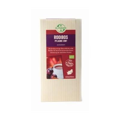 Herbata Rotbusch (Rooibos) ze śliwkami i cynamonem