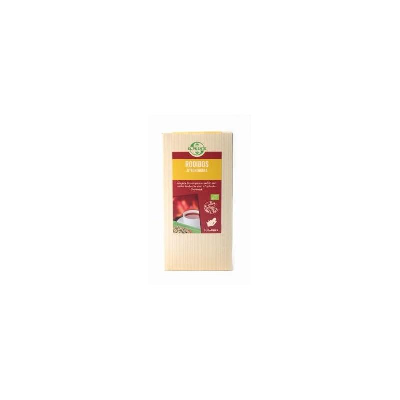 Herbata Rotbusch (Rooibos) z trawą cytrynową