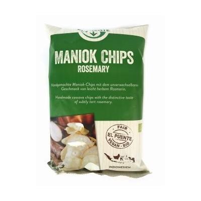 Chipsy z manioku z rozmarynem, Bio