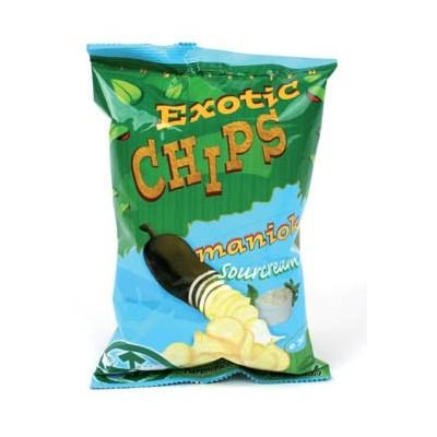 Exotc Chips Maniok śmietankowe małe