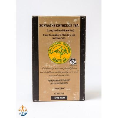 """Herbata czarna tradycyjna z Rwandy """"Orthodox"""""""