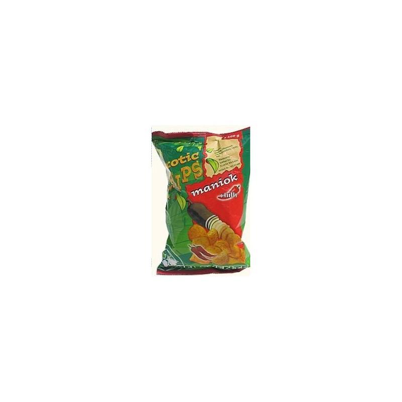 Chipsy z manioku o smaku chili 100 g