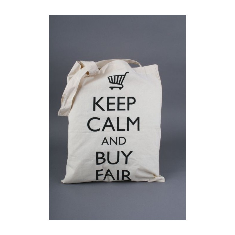 "Torba na zakupy ""Keep calm and buy fair"""